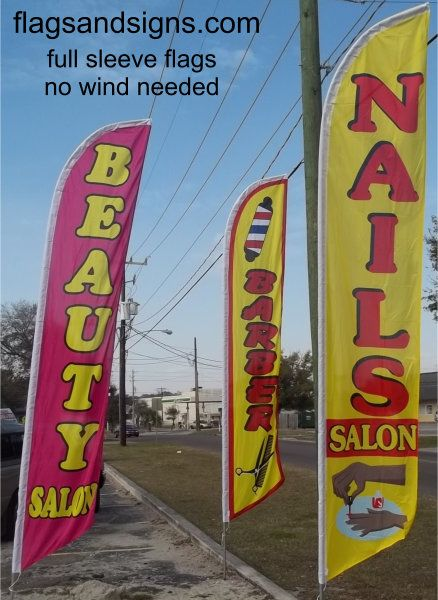Nail Salon Swooper Feather Banner Flag Best Seller Nail Salon Business Flag 5164 Nail Salon 25 00 S Beauty Salon Marketing Salon Signs Beauty Salon Logo