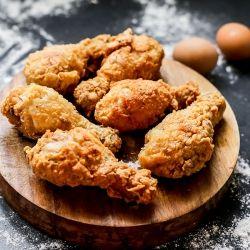 Tender Juicy Crispy Buttermilk Fried Chicken Recipe
