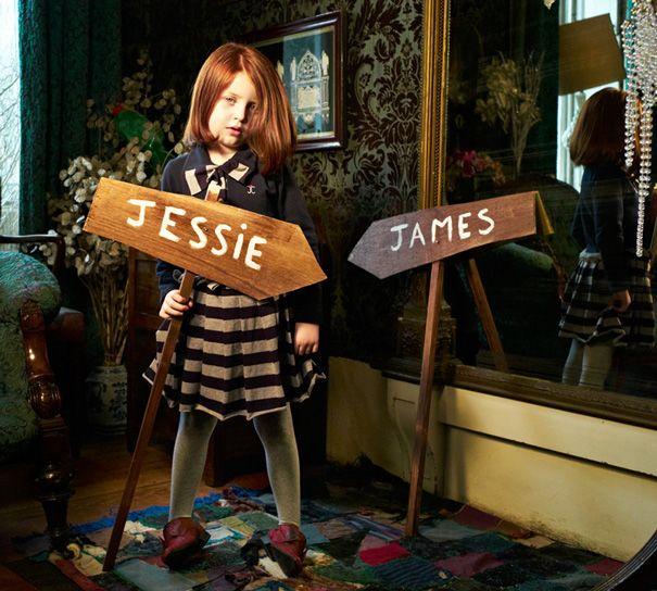 From Bellissima Kids Fashion Week: jessie and james Autumn/Winter 2012