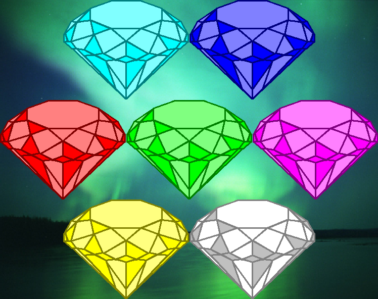 Chaos Emeralds By Segasister On Deviantart Chaos Emeralds Chaos Hedgehog Colors