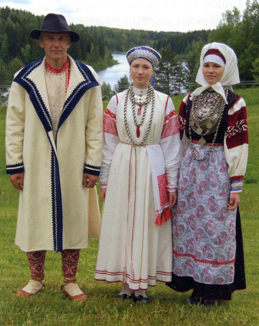 Estonia Traditional Costumes