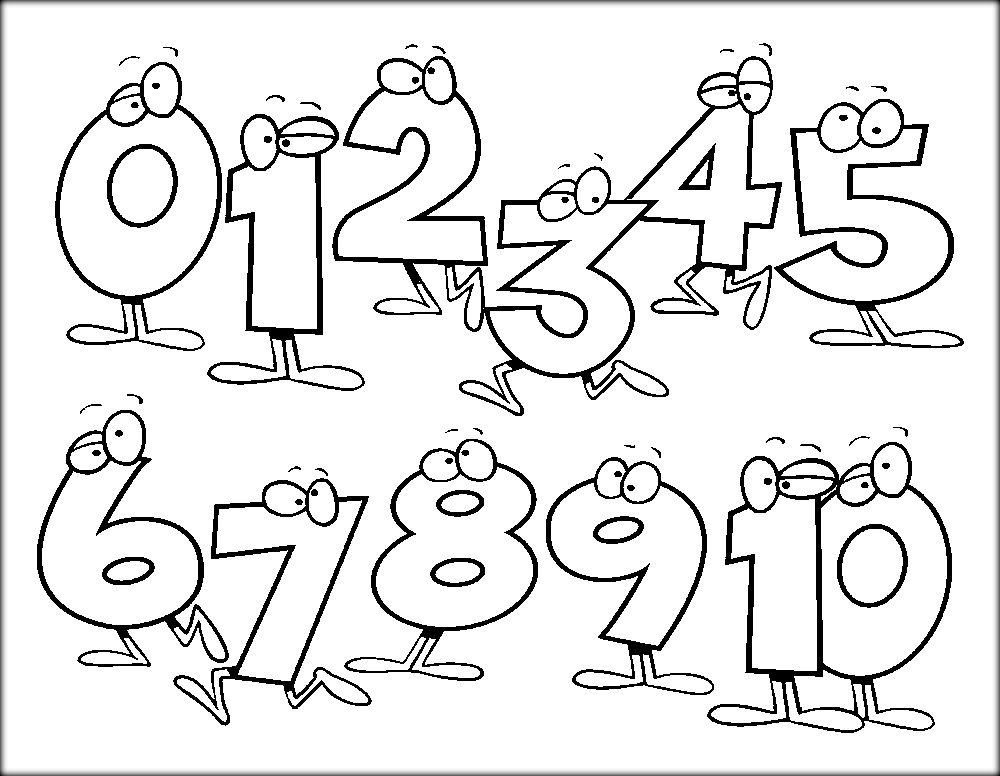 123 Coloring Pages Kindergarten Coloring Pages Preschool Coloring Pages Math Coloring