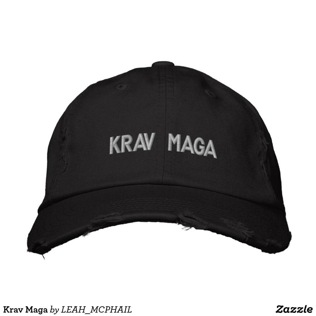 a0da7a73ae3c4 Krav Maga Custom Embroidered Hats