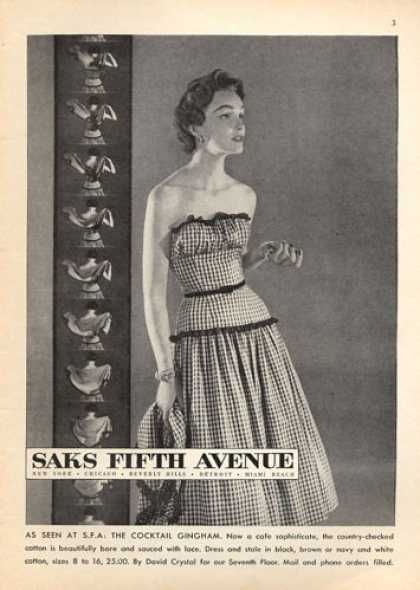 9fc6b9b4a3e Vintage  SaksFifthAvenue Ad