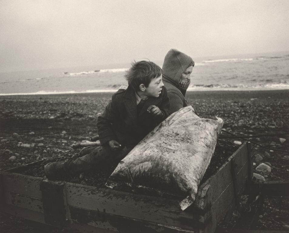 Seacoalers; Chris Killip (British, born 1946); Lynmouth, England; 1983; Gelatin silver print; 27.8 x 34.1 cm (10 15/16 x 13 7/16 in.); 2007.70; Copyright: © Chris Killip