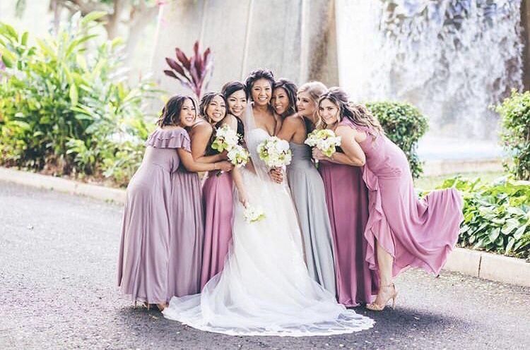 Lavender Purple Bridesmaid