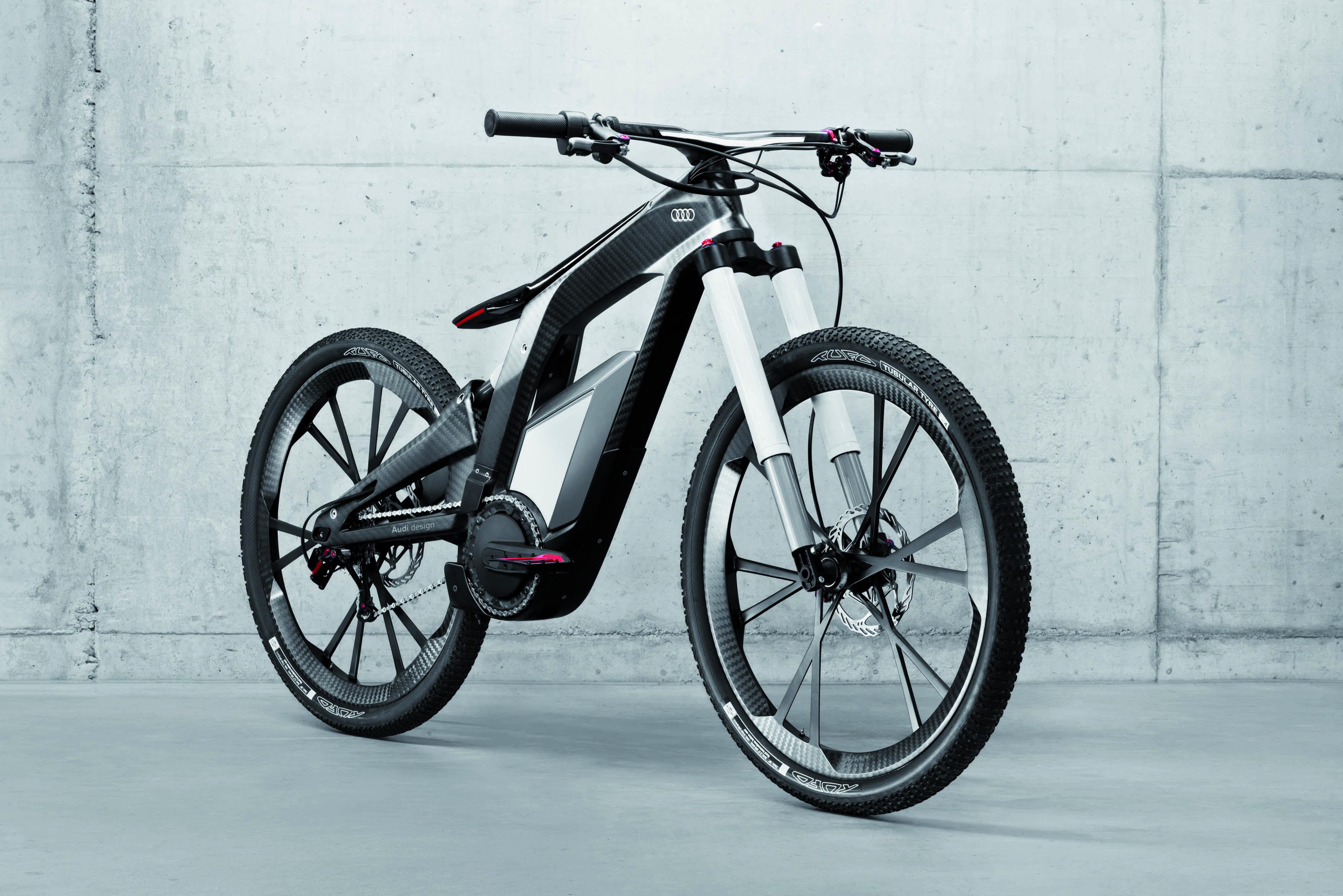 Audi E Bike Worthersee Concept Bicycle Powered Bicycle Ebike
