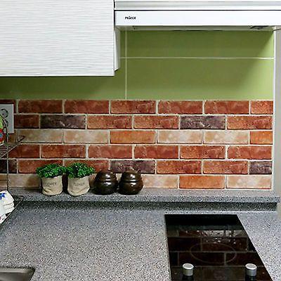 Home Decor Tile Householditems Brick Effect Tile Stickers Home Decor Kitchen