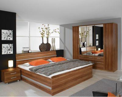 Schlafzimmer Komplettset Kernnuss Dekor Jetzt bestellen unter - design schlafzimmer komplett