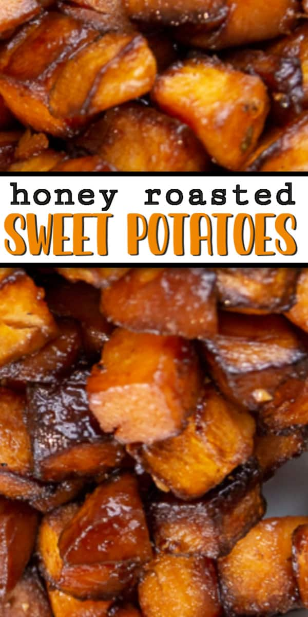 Melt in your mouth, Honey Roasted Sweet Potatoes!