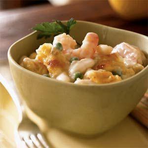 Creamy Gruyère and Shrimp Pasta | MyRecipes.com