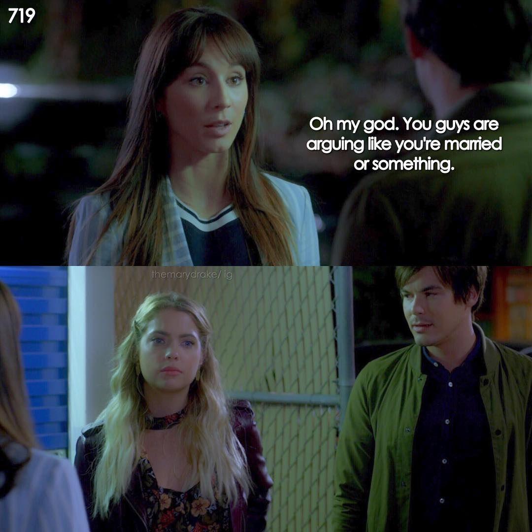 "#PLL 7x19 ""Farewell My Lovely"" - Spencer, Hanna and Caleb ..."