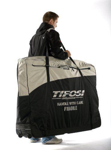 Tifosi X-Large Heavy Duty Padded Bike Bag - Grey/Black, 135 cm