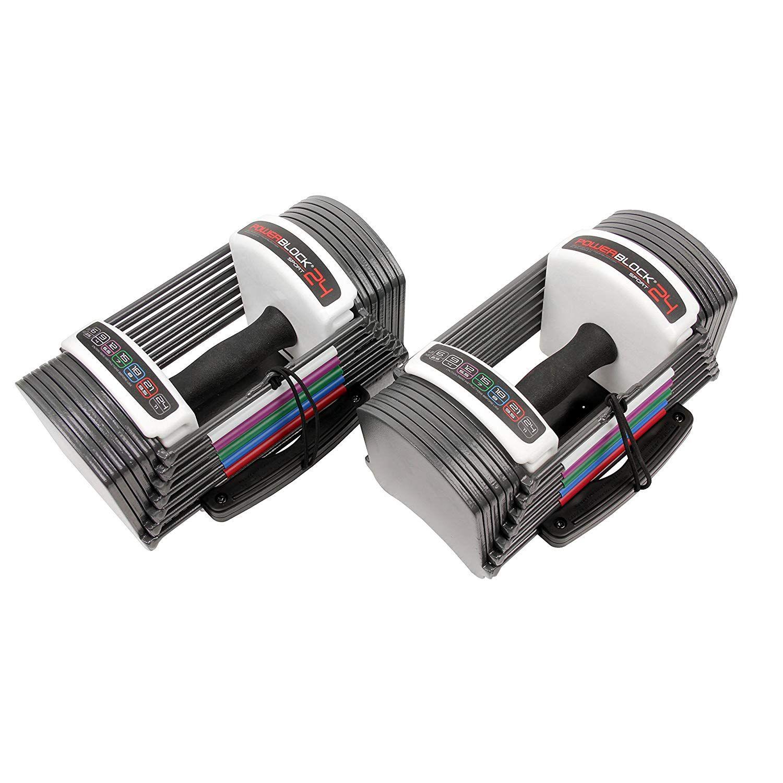 Power Block Adjustable SpeedBlock Dumbbells (Pack of 2