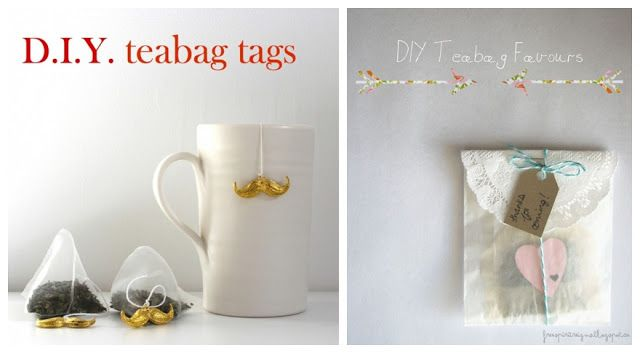 One Lump Or Two Diy Teabag Wedding Favours Prinz Wedding 2018