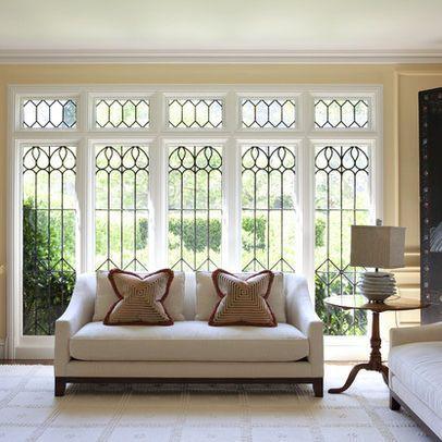 ff  ada  abd  dc design living room leaded glass windows  also best window grill images iron gates furniture doors rh pinterest