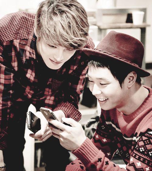 Yoochun and Jaejoong