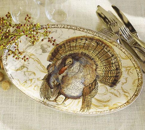 gorgeous turkey platter