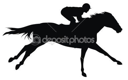 Horse Racing Horse Silhouette Horse Pictures Horse Tattoo