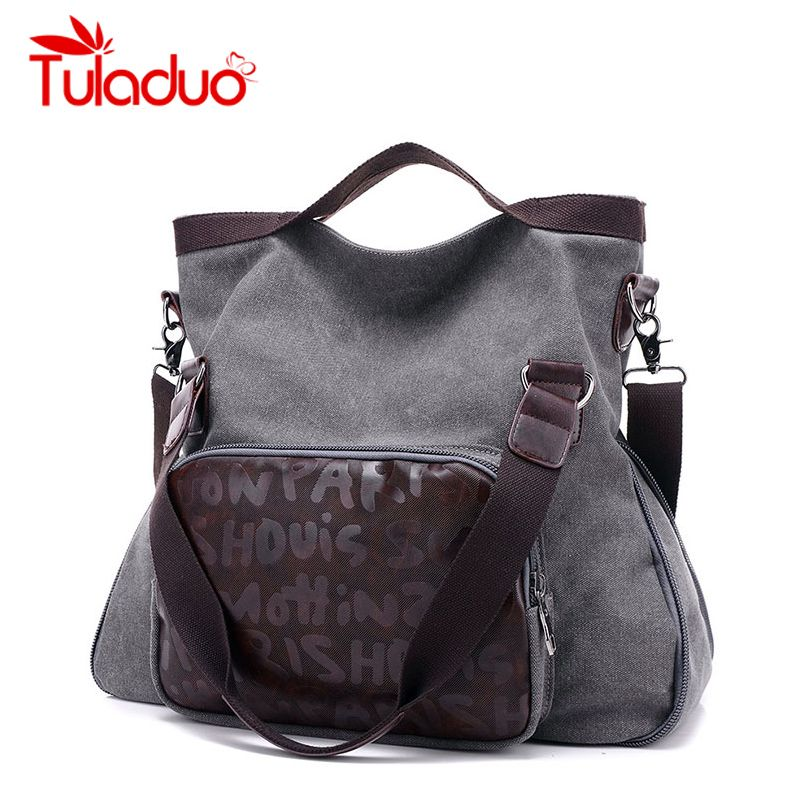 0415d18f30f2  Free Shipping  Buy Best Original Woman Canvas Bags Designer Handbags High
