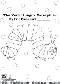 Eric Carle Coloring Pages www.memory4teachers.co.uk