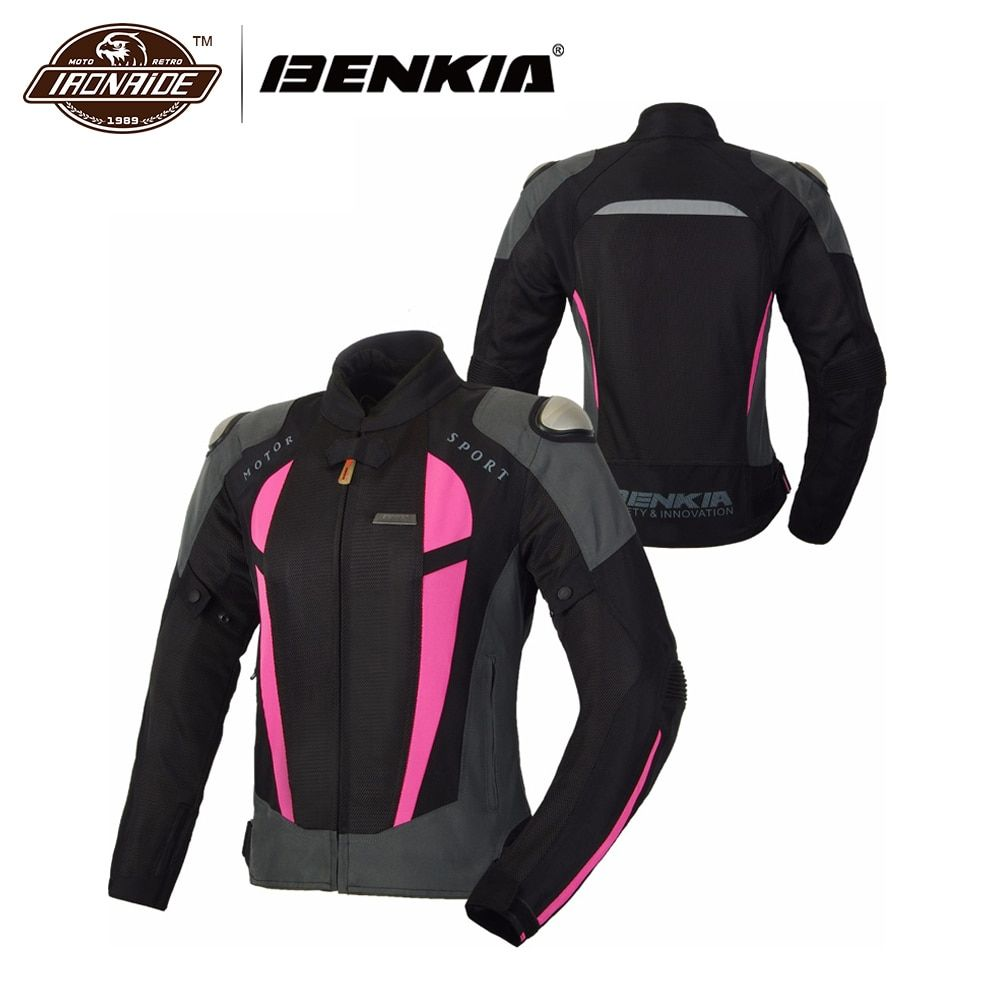 Women Motorbike Mesh Armor summer Jacket | offtobuy.com