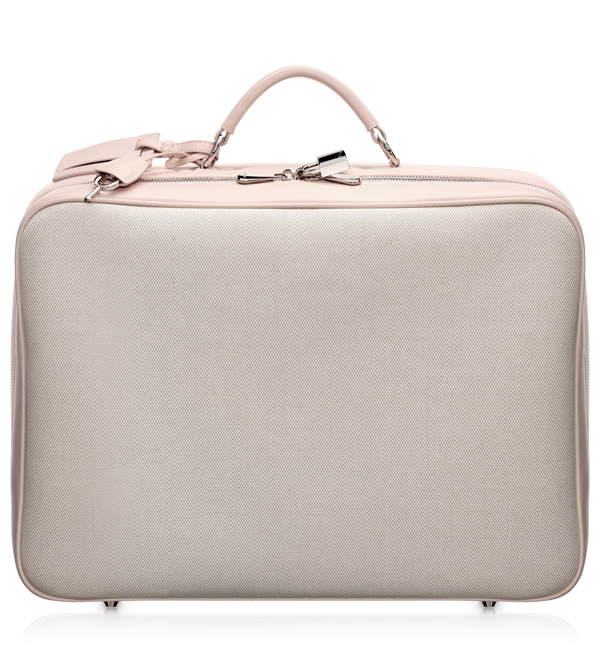0de49ac5c89d99 www.dior.com BABY DIOR - Beige and pink leather and changing bag ...