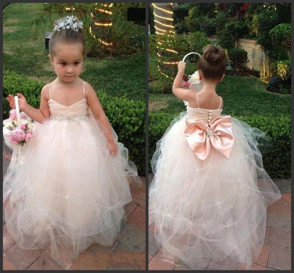 Find More Flower Girl Dresses Information About Fluffy Little Girls