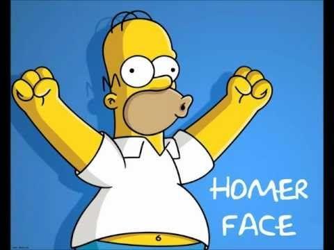 Homer Face - Homer Simpson - YouTube | Homer simpson ...