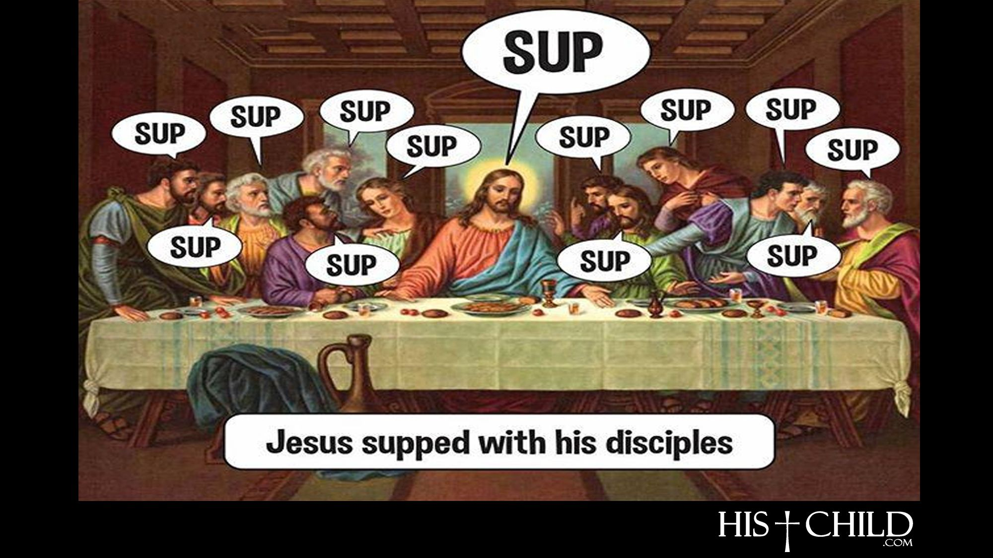 Jesus Supped With His Disciples Disciple Jesus Christian Inspiration