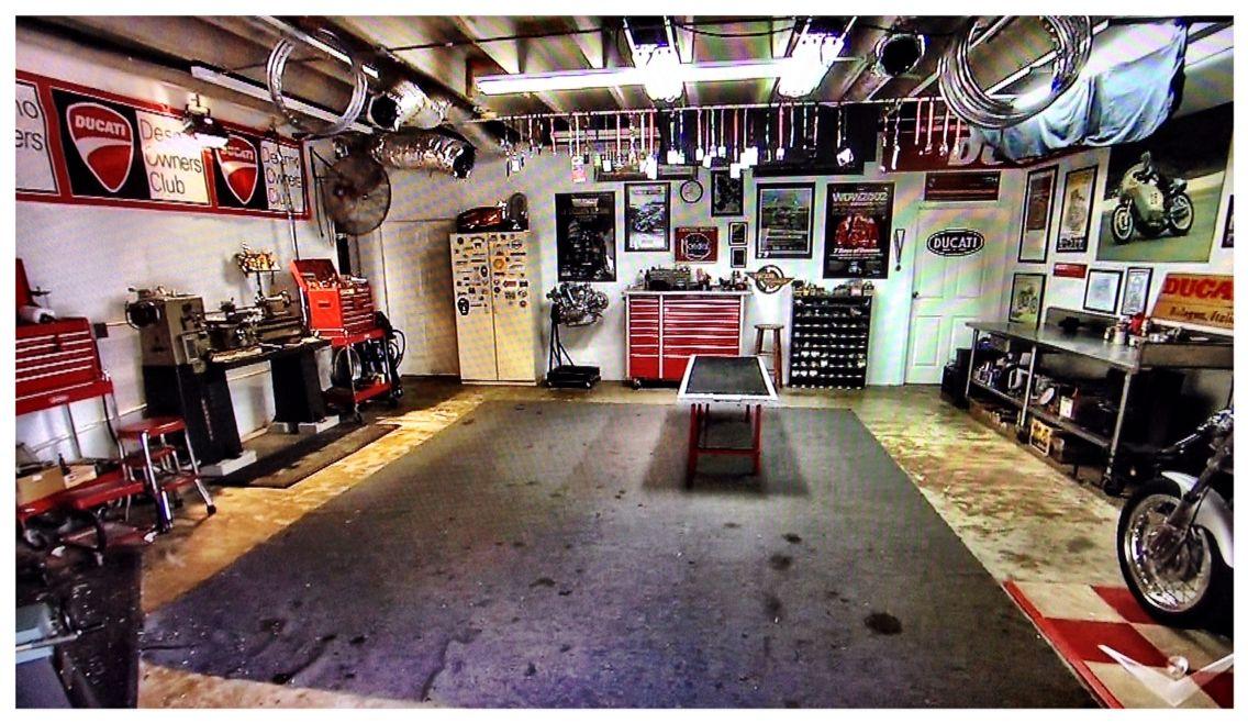 ducati bike shop garage workshop garage workshop. Black Bedroom Furniture Sets. Home Design Ideas