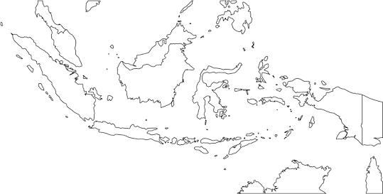 Peta Indonesia Hitam Putih Penelusuran Google Peta
