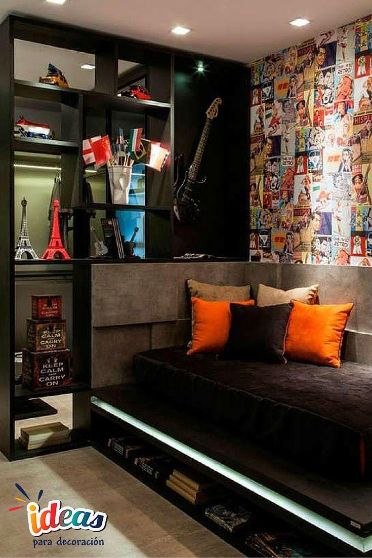 No te pierdas estas ideas de decoraci n para dormitorios - Ideas dormitorios juveniles ...
