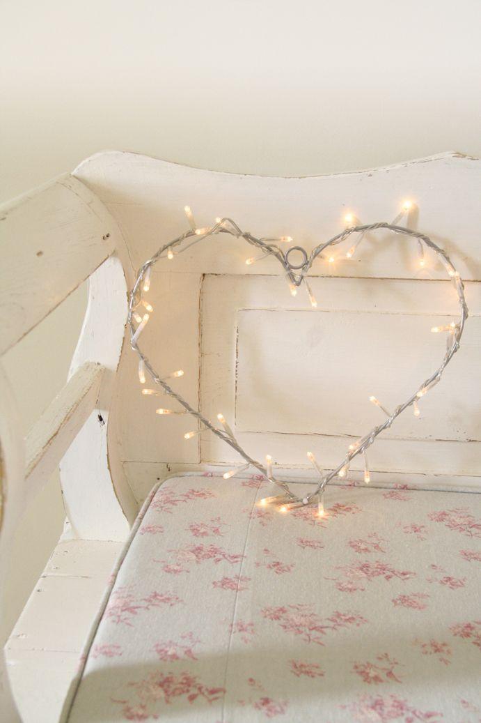 Fairylight Heart Wreath Decoration From Lights4fun Fairy Lights