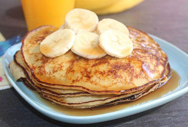 Pancakes Minceur Express à 0 SP | Pancakes minceur, Recette petit déjeuner minceur, Petit ...