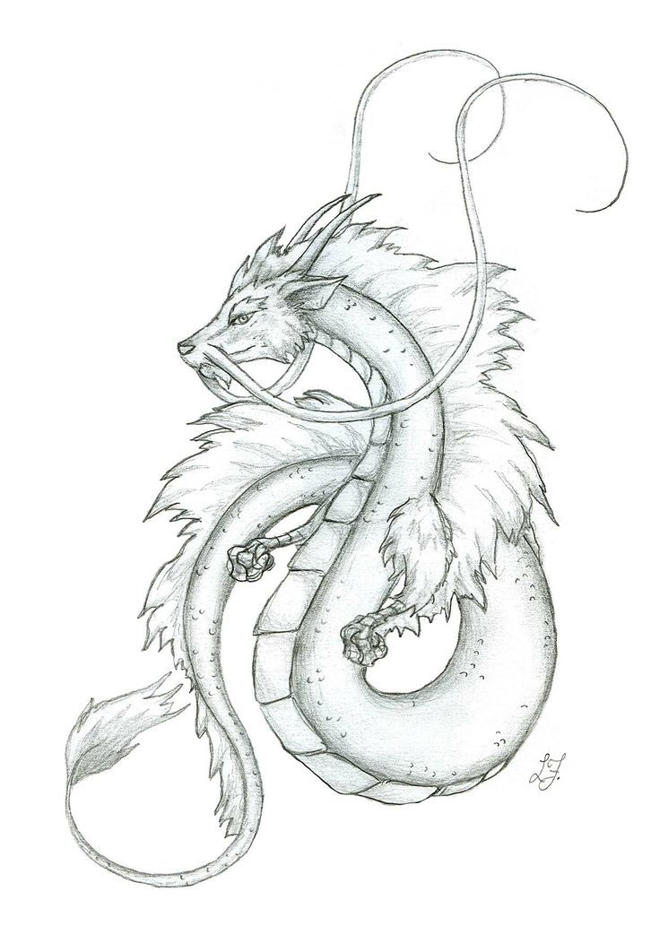 image result for peaceful japanese dragon drawing japanese art