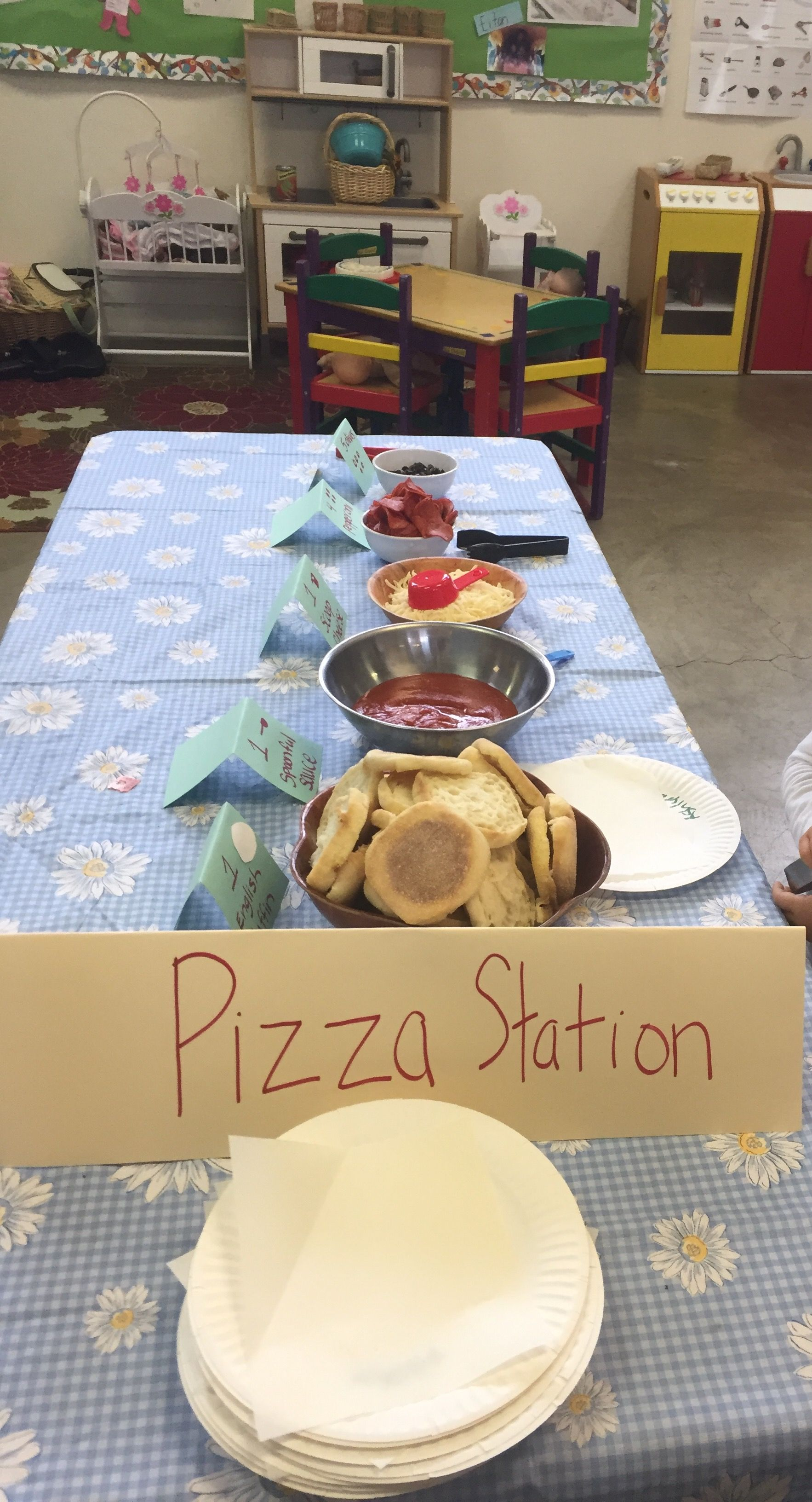 Pizza Making In My Classroom