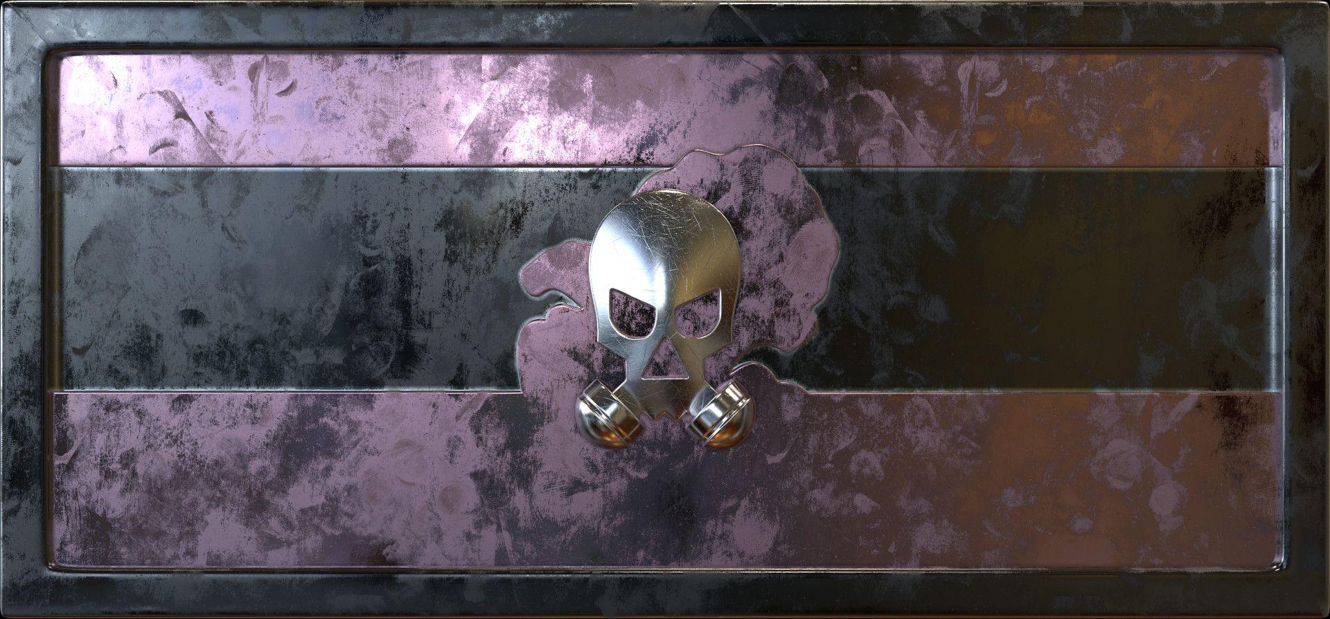 ArtStation Smoke's Icon 3D Rainbow Six Siege, Ninb