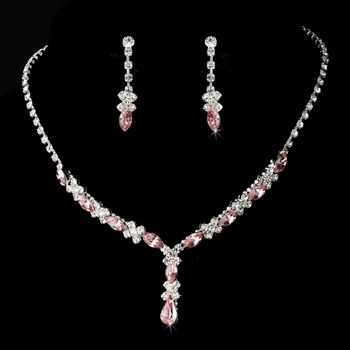 Cheap Price Clearance White Pearl Prom Bridesmaid Wedding Formal Necklace Jewelry Set Trendy Jewelry & Watches