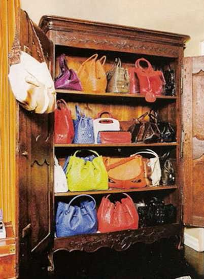 Handbag Storage Solutions And Home Organizers For Small Spaces