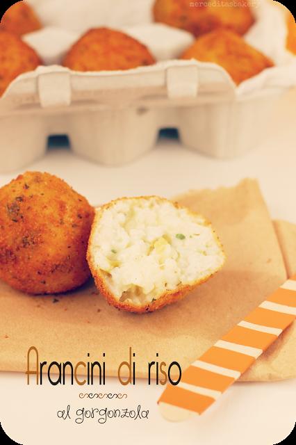Merceditas Bakery Arancini De Arroz Al Gorgonzola Para Mariela