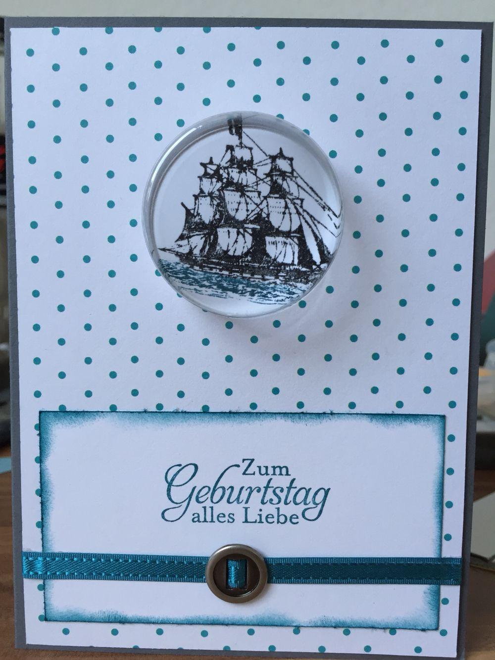 Geburtstagskarte stampin up