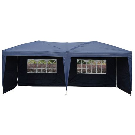 Outsunny 10 X20 Pop Up Party Tent With 4 Side Walls Gazebo Carport Tent Tent