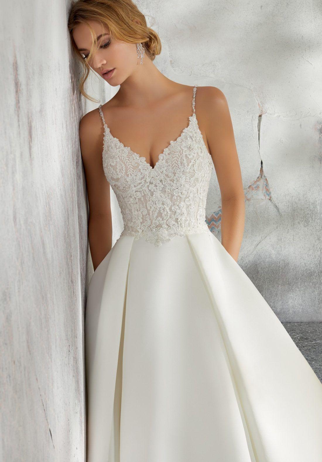 33++ Spaghetti strap wedding dress with pockets info