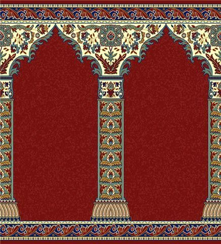 Mosque Carpet Usa Imam Qubba Red Made In Turkey Mosque Or