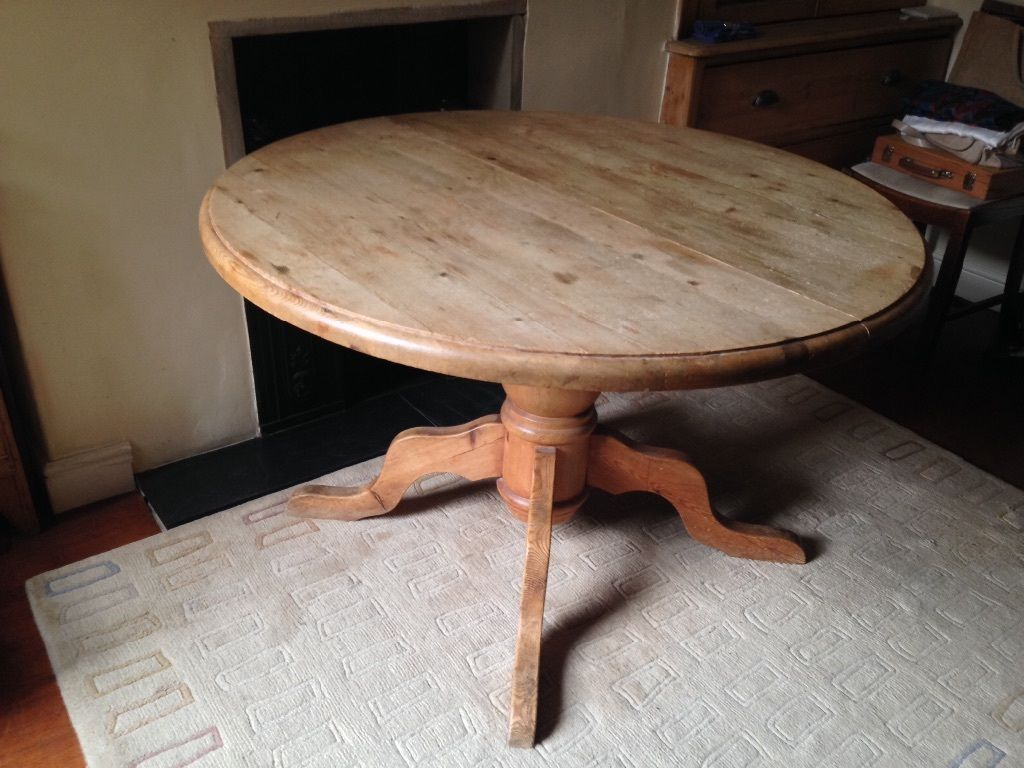 Pine Round Dining Table Dining Room Ideas