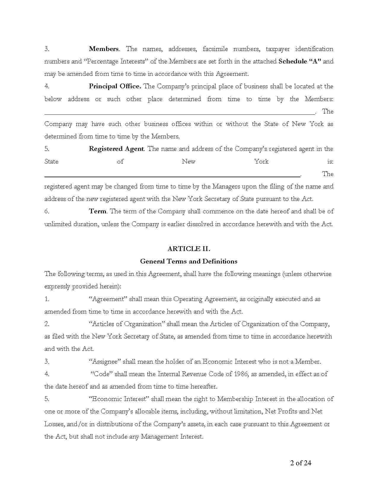 Templates Amendment To Llc Operating Agreement Templates Hunter
