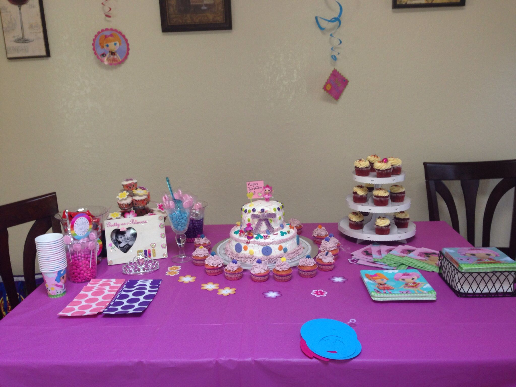 My Candy And Cup Cake Station Of Lolliloopsi Decorations