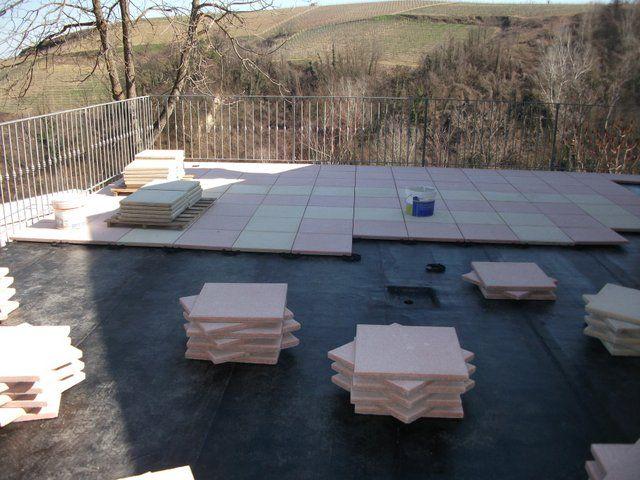 Pavimento galleggiante su guaina di un terrazzo – Pannelli ...