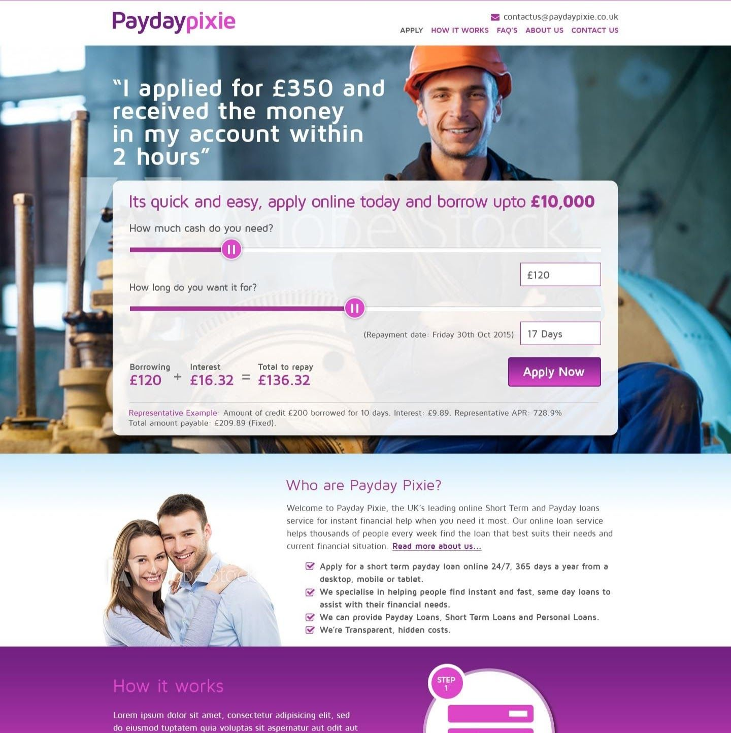 Paydaypixie Online Loans Personal Loans Quick Loans